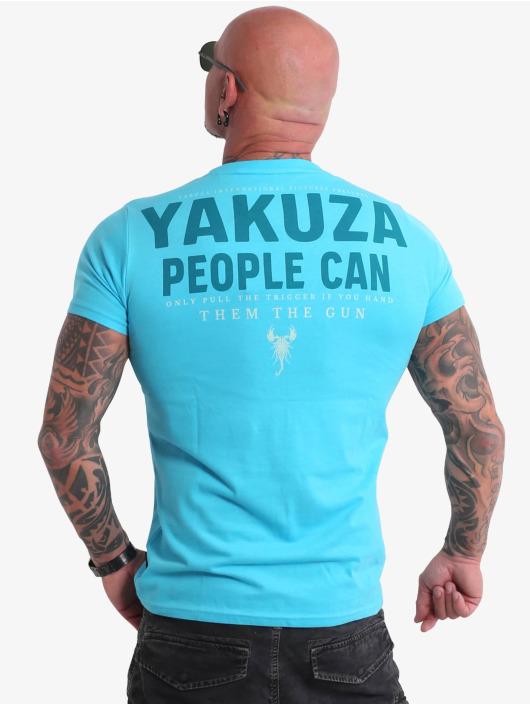 Yakuza t-shirt People blauw
