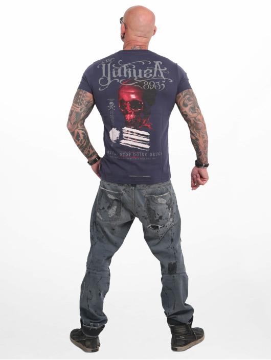 Yakuza T-Shirt Never Stop bleu