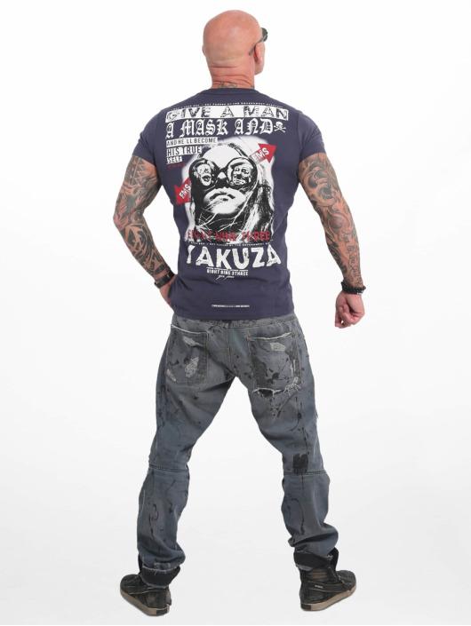Yakuza T-Shirt Fly bleu