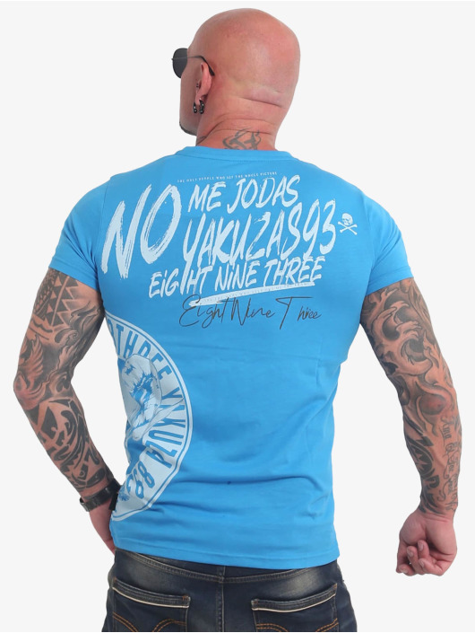 Yakuza T-Shirt Jodas bleu