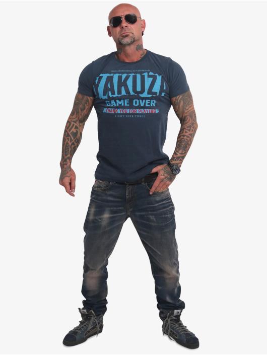 Yakuza T-Shirt Hating Clown bleu