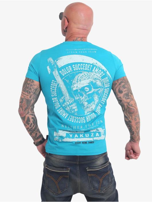 Yakuza T-Shirt Neither The Sun bleu