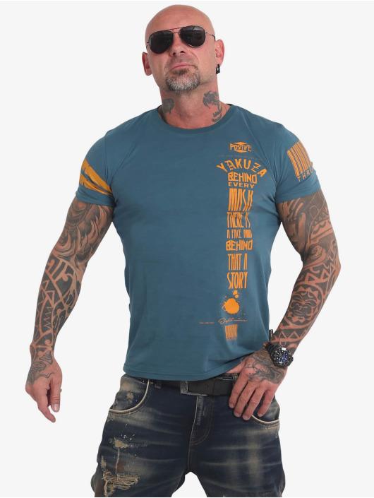 Yakuza T-Shirt Ulster bleu