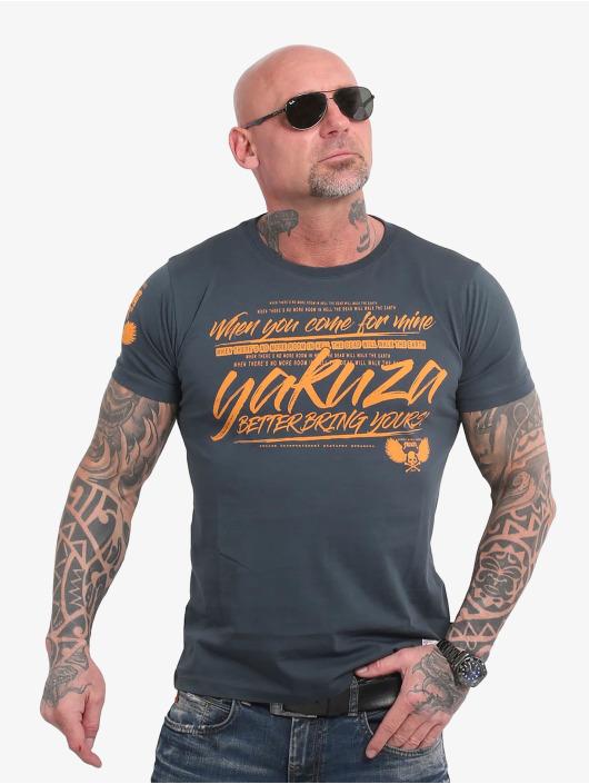 Yakuza T-Shirt Better Bring Yours bleu