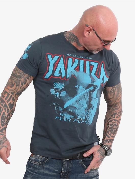 Yakuza T-Shirt Six Feet bleu