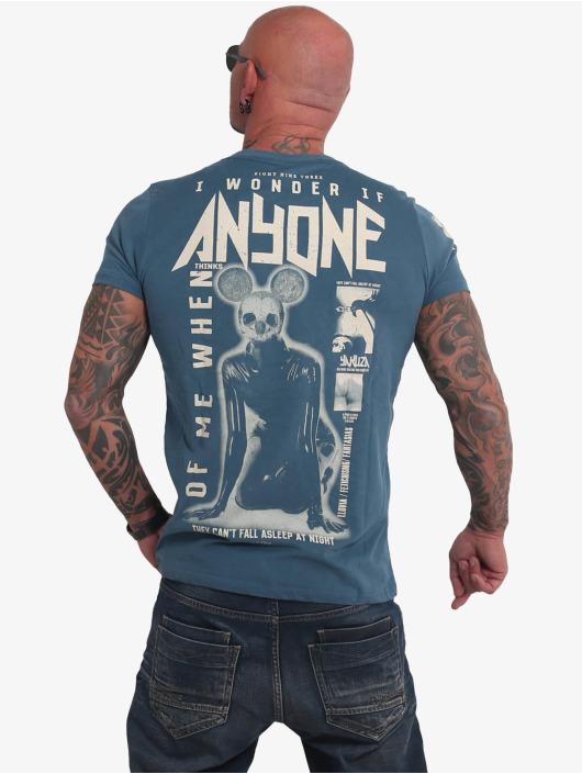 Yakuza T-shirt Anyone blu
