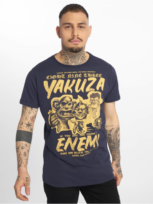 Yakuza T-Shirt Enemy blue