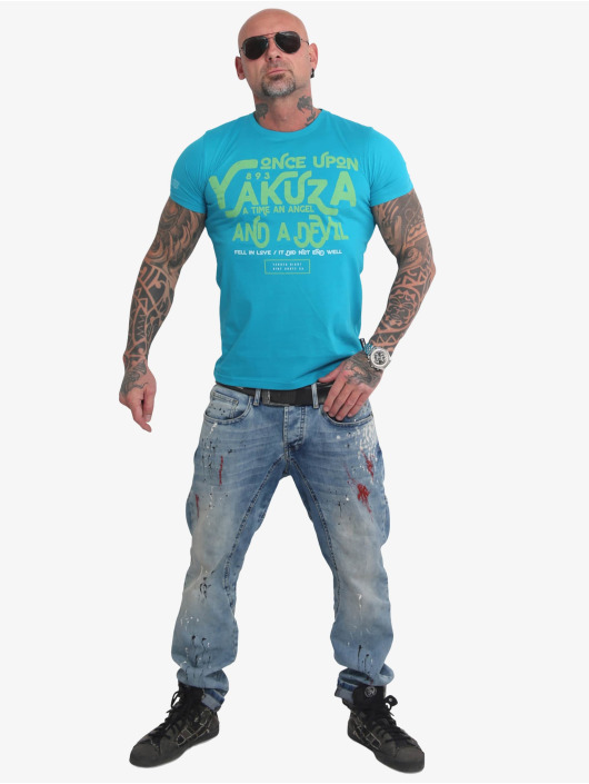 Yakuza T-Shirt Once Upon blue