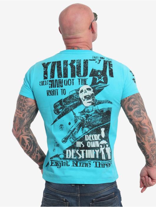 Yakuza T-Shirt Right To Decide blue