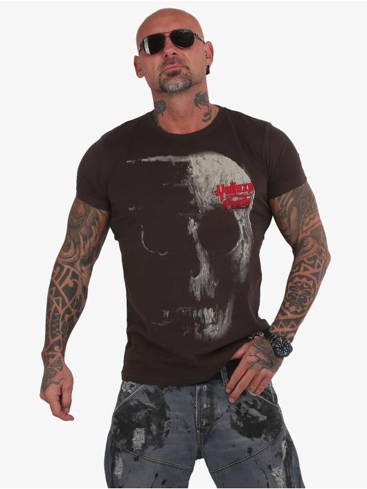 Yakuza T-Shirt 2Word braun