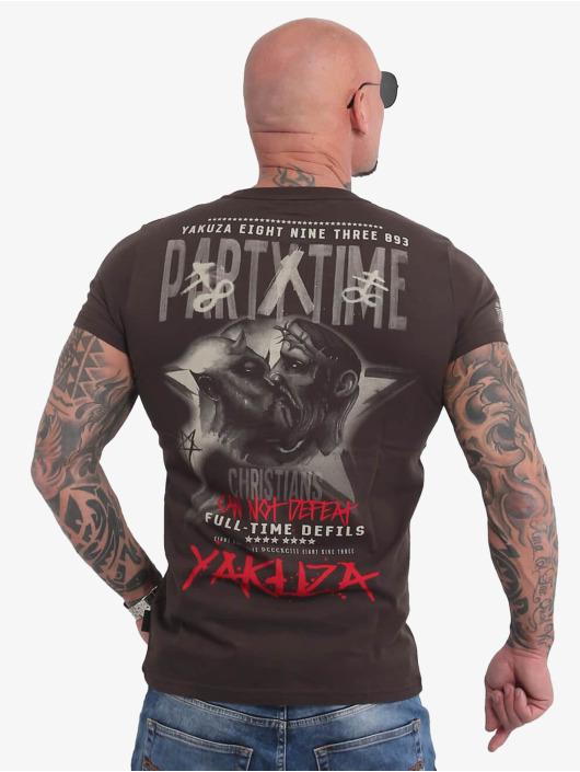 Yakuza T-Shirt Party Time braun