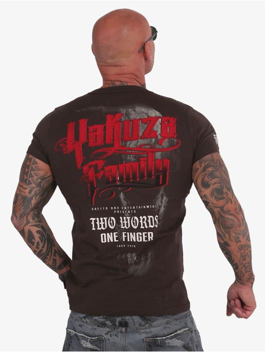 Yakuza T-Shirt 2Word brown