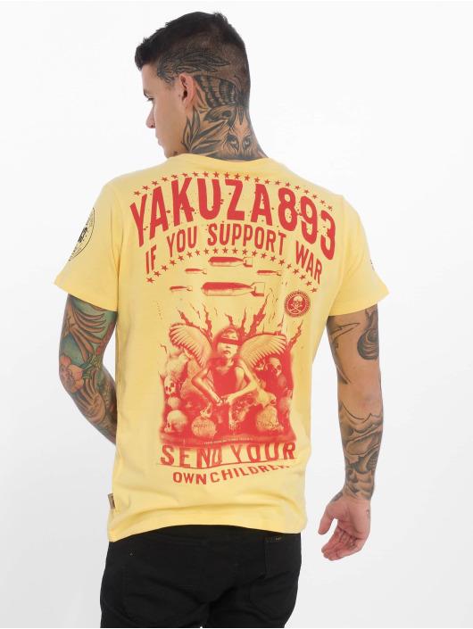 Yakuza T-Shirt Support ? gelb