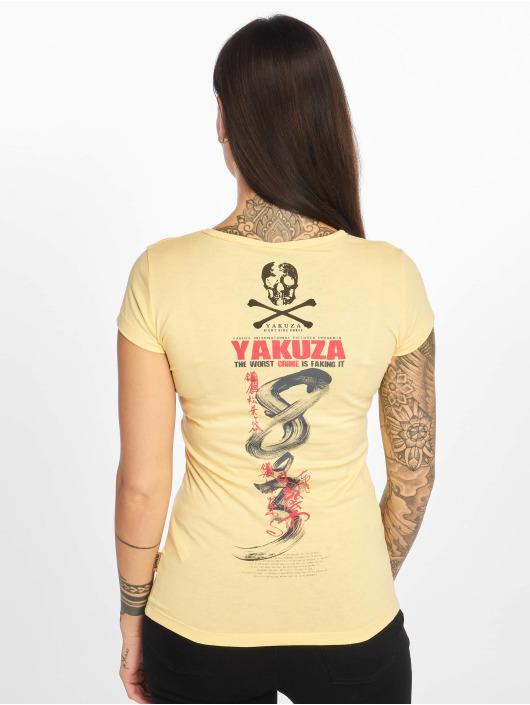 Yakuza T-Shirt Join Us gelb