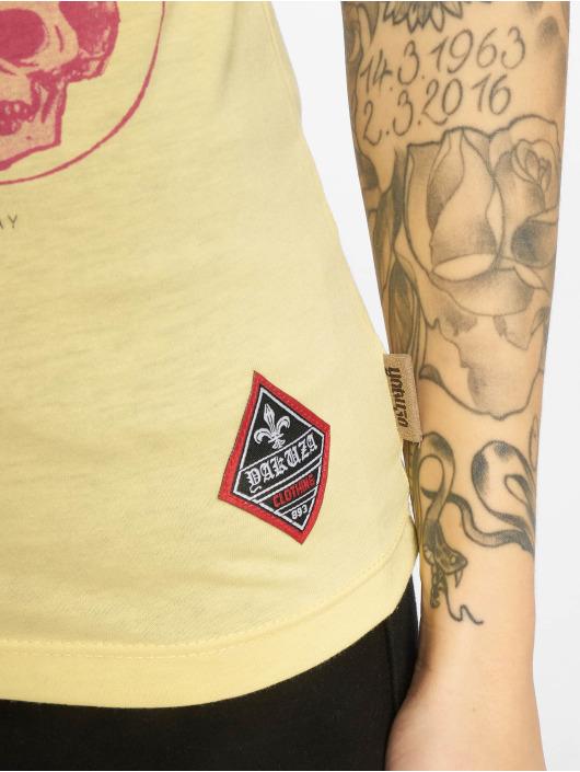 Yakuza T-Shirt Your Hate gelb