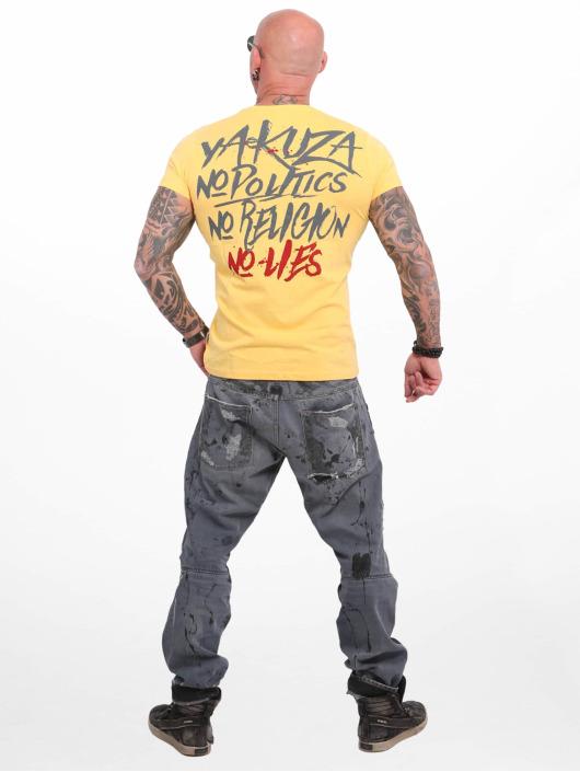 Yakuza T-Shirt No No No gelb