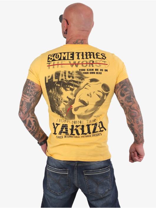 Yakuza T-Shirt Sometimes gelb