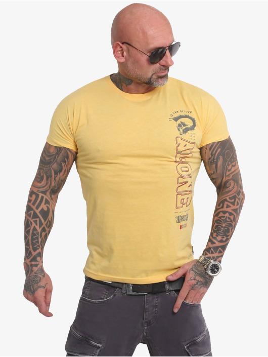 Yakuza T-Shirt Bad Company gelb
