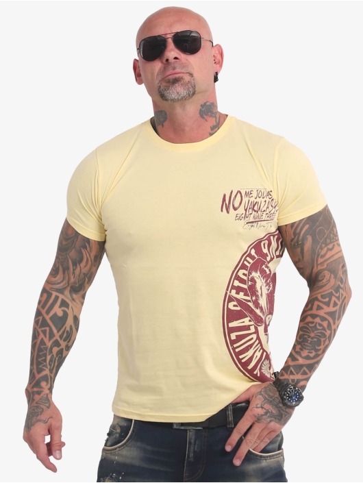 Yakuza T-Shirt Jodas gelb