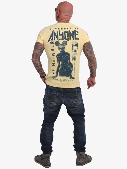 Yakuza T-Shirt Anyone gelb