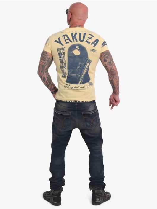 Yakuza T-Shirt Ulster gelb