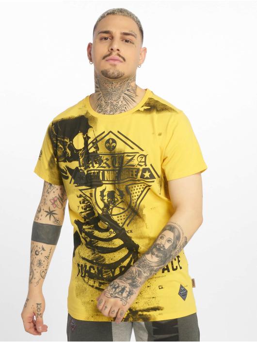 Yakuza T-shirt Xray giallo