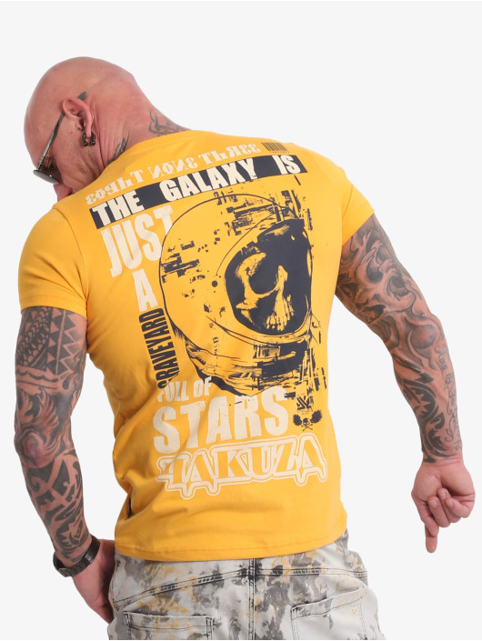 Yakuza T-shirt Galaxy giallo