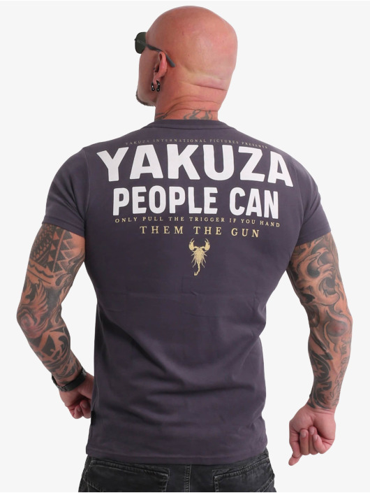 Yakuza T-shirt People grå