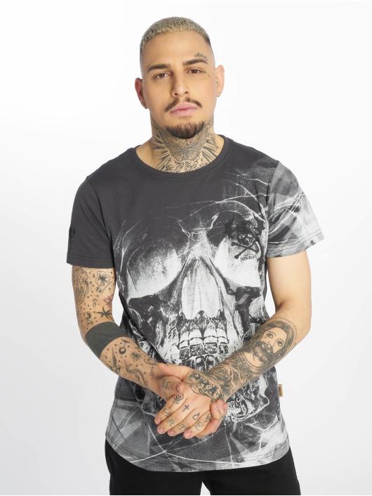 Yakuza T-Shirt Cyber Death grau
