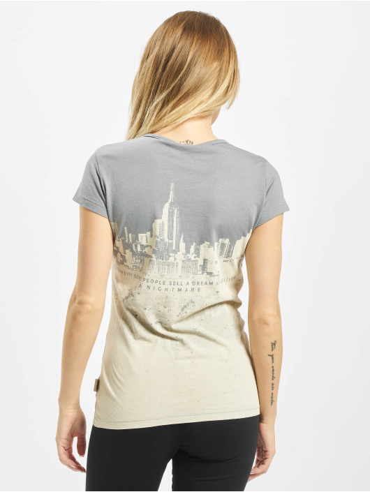 Yakuza T-Shirt Skyline grau