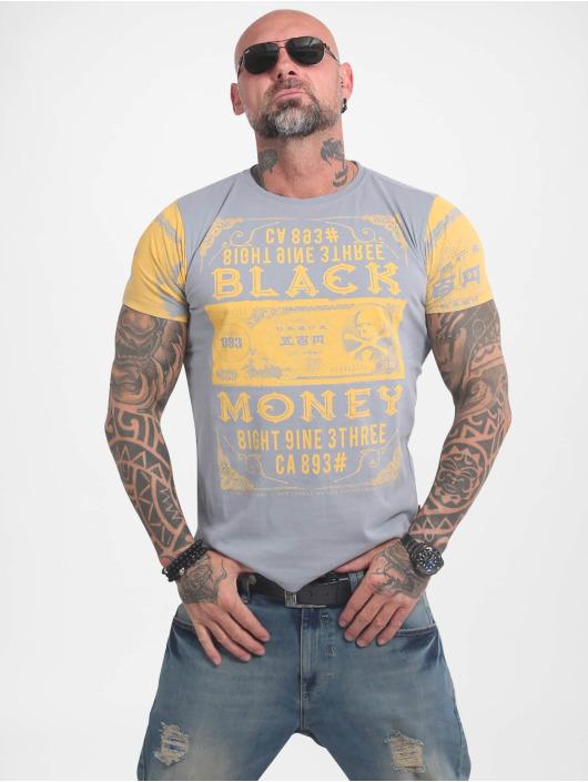 Yakuza T-Shirt Black Money grau