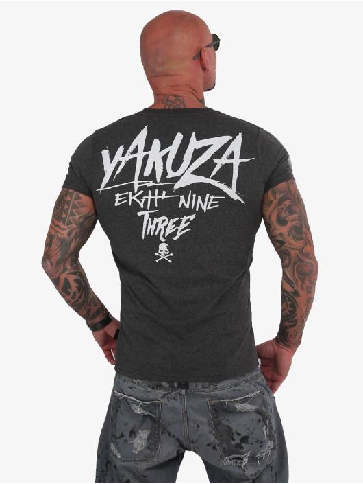 Yakuza T-Shirt Muerte grau