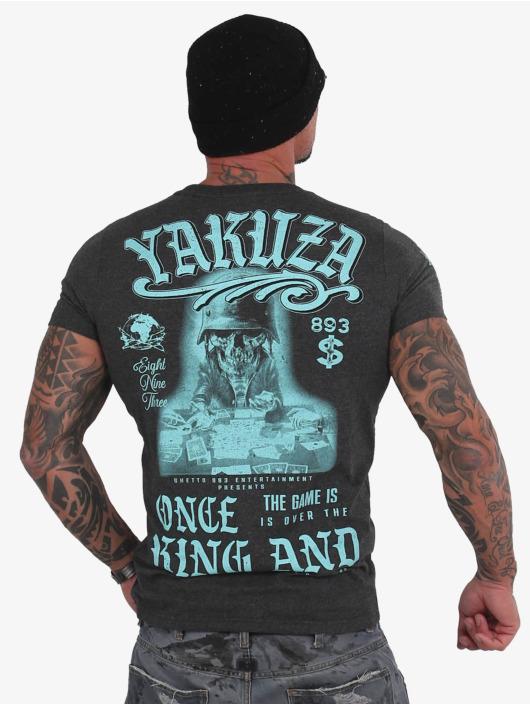 Yakuza T-Shirt King grau