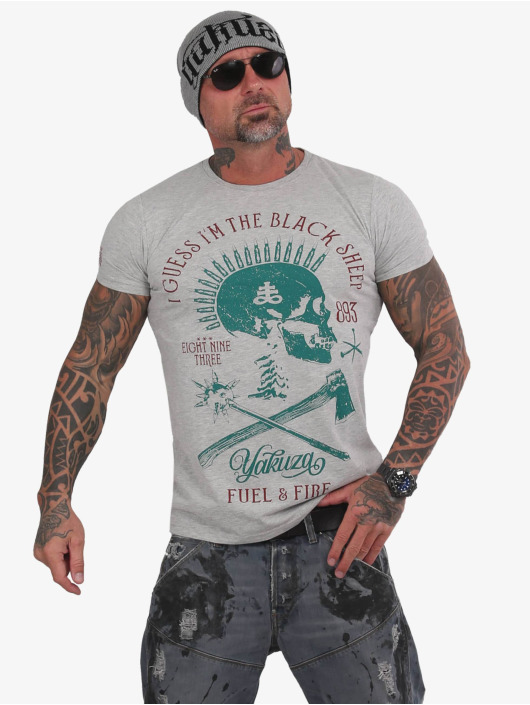 Yakuza T-Shirt Black Sheep grau