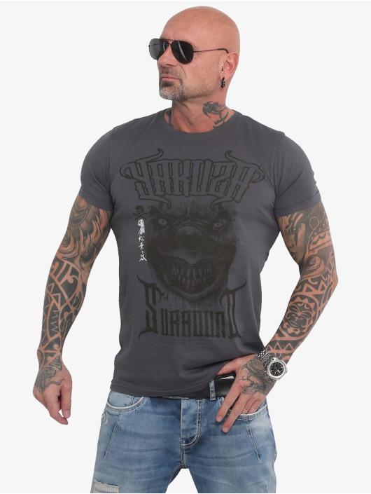 Yakuza T-Shirt Surround grau