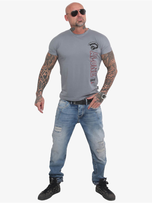 Yakuza T-Shirt Bad Company grau