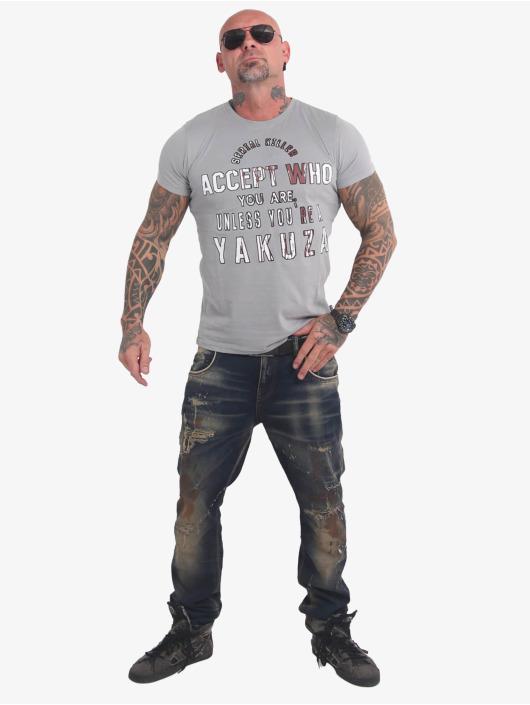 Yakuza T-Shirt Swine grau