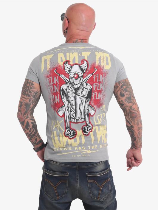 Yakuza T-Shirt No Fun grau