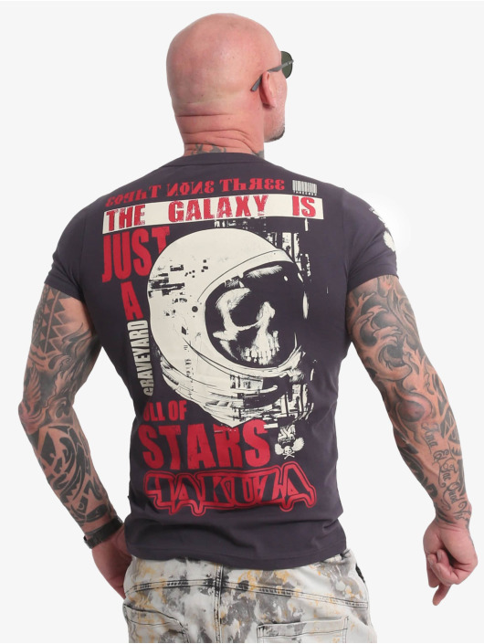 Yakuza T-Shirt Galaxy grau