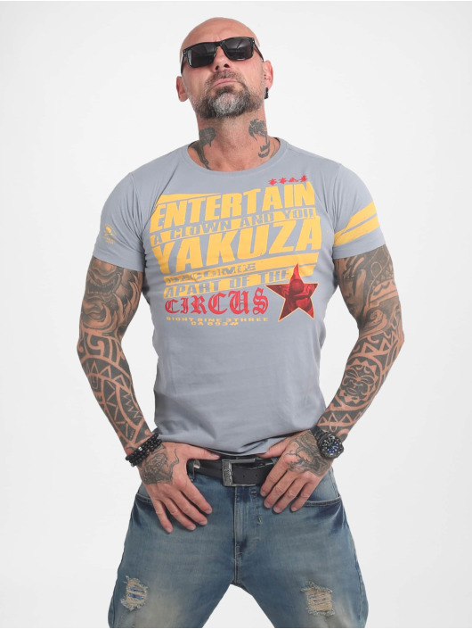Yakuza T-Shirt Entertain gray