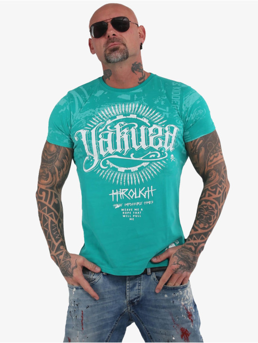 Yakuza T-Shirt Through Times green