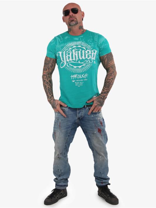 Yakuza T-Shirt Through Times green
