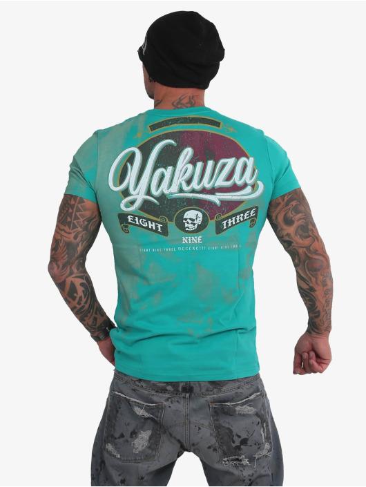 Yakuza T-Shirt Skull green