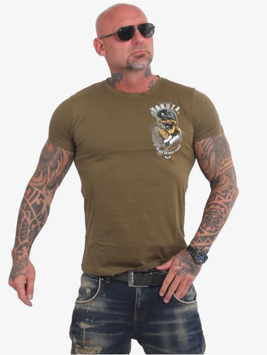 Yakuza T-Shirt Wey green