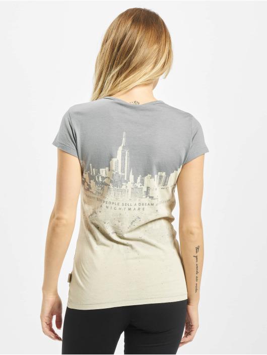 Yakuza T-Shirt Skyline grey