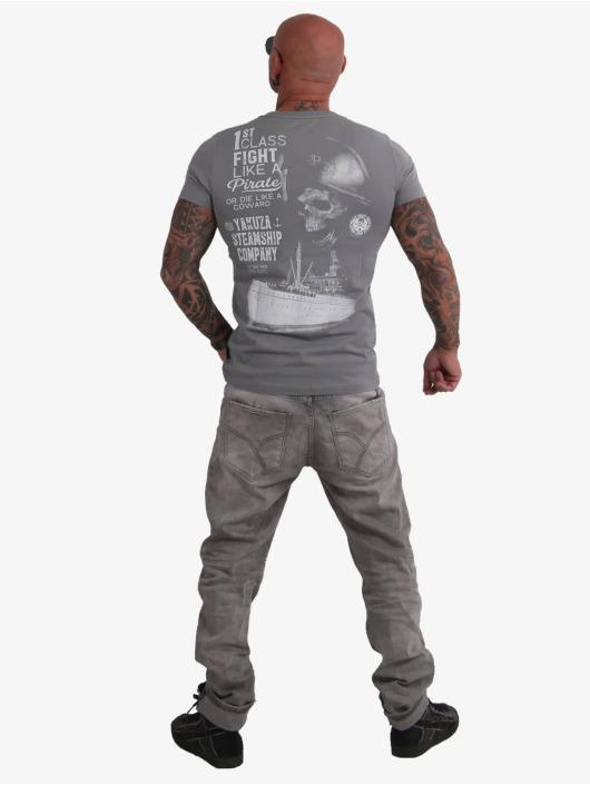 Yakuza T-Shirt Pirates Of The 893 grey