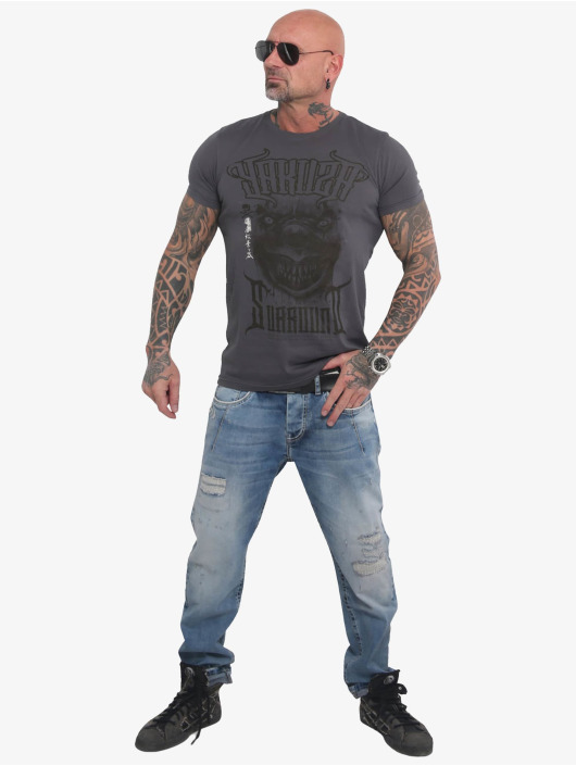 Yakuza T-Shirt Surround grey