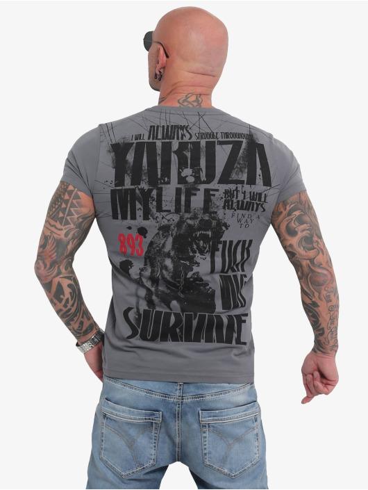 Yakuza T-Shirt My Life grey