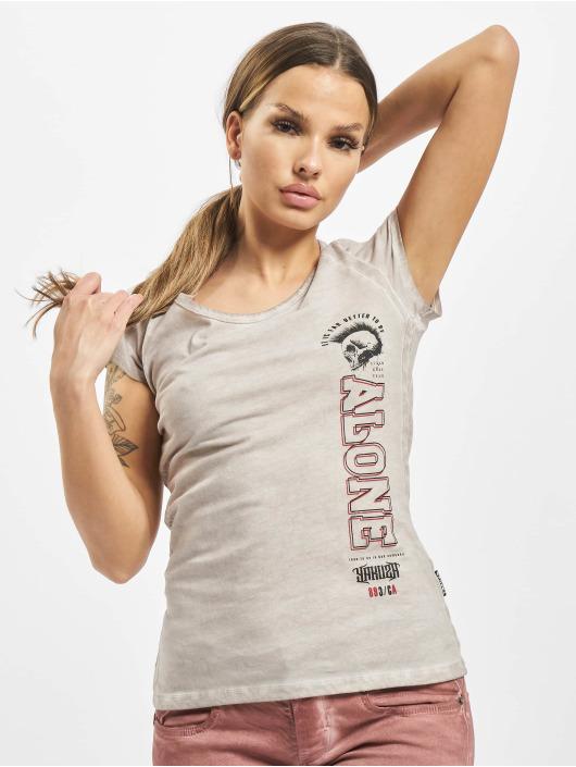 Yakuza T-Shirt Bad Company Racerback grey