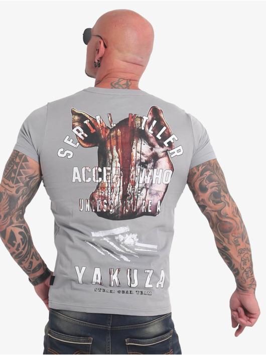 Yakuza T-Shirt Swine grey